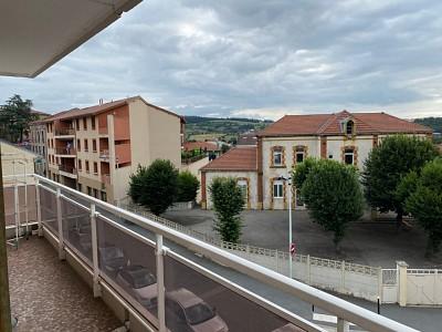 APPARTEMENT T2 A VENDRE - ROCHE LA MOLIERE - 56,4 m2 - 59000 €
