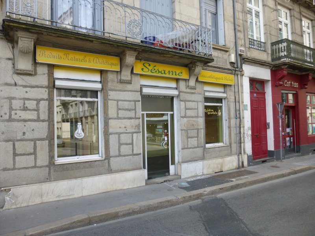 LOCAL COMMERCIAL A LOUER - ST ETIENNE HYPER CENTRE - 500 € HC et HT par mois