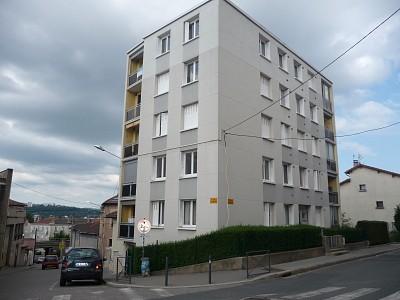 APPARTEMENT T2 A LOUER - ST ETIENNE CARNOT-MARAIS - 55 m2 - 515 € charges comprises par mois