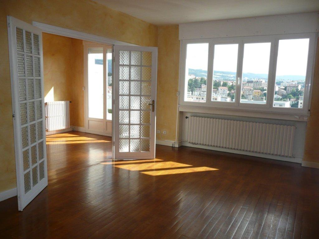 APPARTEMENT T3 A LOUER - ST ETIENNE VIVARAIZE-FAURIEL-BEAULIEU - 78 m2 - 610 € charges comprises par mois